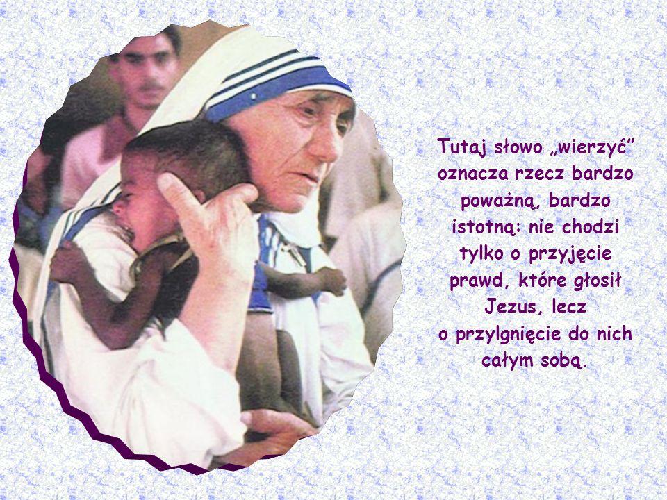 Warunkiem otrzymania tego sakramentu jest wiara, którą wyznałeś ustami rodziców chrzestnych. Jezus bowiem w scenie wskrzeszenia Łazarza, w rozmowie z