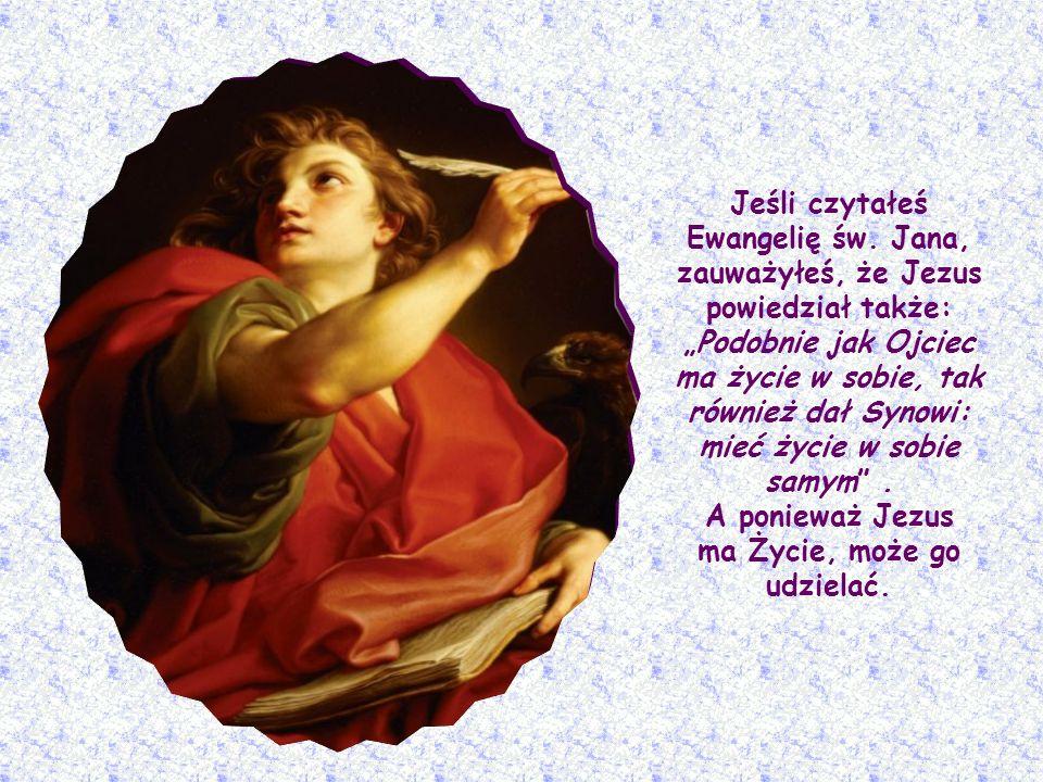 Jezus pragnie wyjaśnić, kim On sam jest dla ludzkości: przynosi najcenniejsze dobro, jakiego można pragnąć - Życie, Życie, które nie zna śmierci.