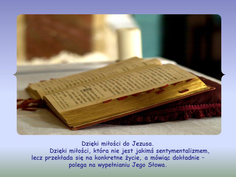 Lecz jak chrześcijanin może to osiągnąć? Jak może nosić w sobie samego Boga? Jaką drogą dojść do tej głębokiej z Nim komunii?