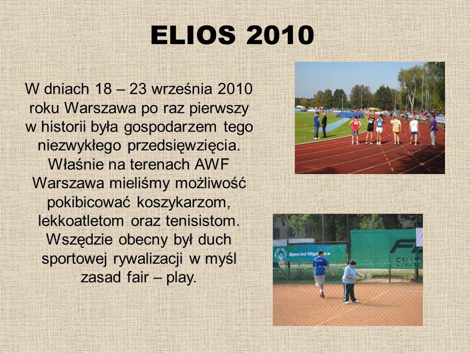 ELIOS 2010 W dniach 18 – 23 września 2010 roku Warszawa po raz pierwszy w historii była gospodarzem tego niezwykłego przedsięwzięcia. Właśnie na teren