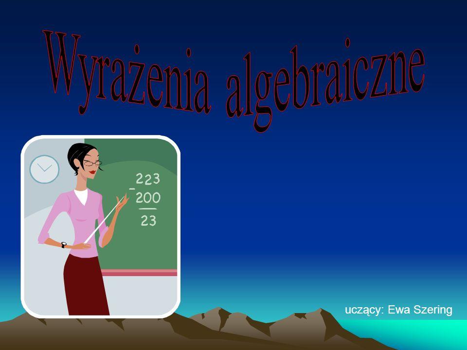 uczący: Ewa Szering