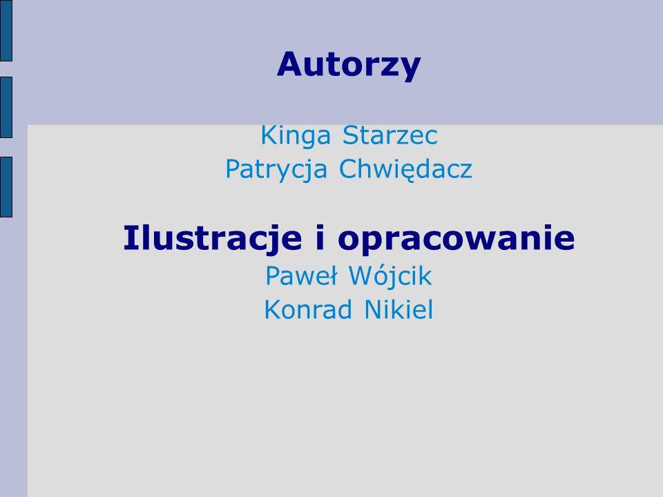 Autorzy Kinga Starzec Patrycja Chwiędacz Ilustracje i opracowanie Paweł Wójcik Konrad Nikiel