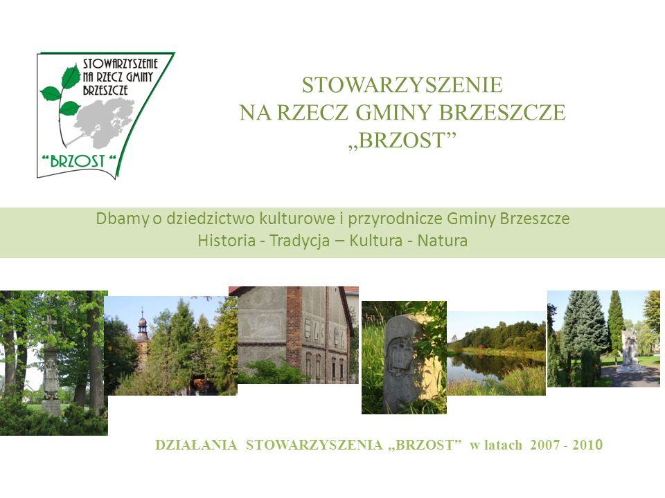ŚRODKI FINANSOWE dotacji uzyskanych z Urzędu Gminy Brzeszcze w ramach konkursu ogłoszonego dla organizacji pozarządowych dotacji z Fundacji im.