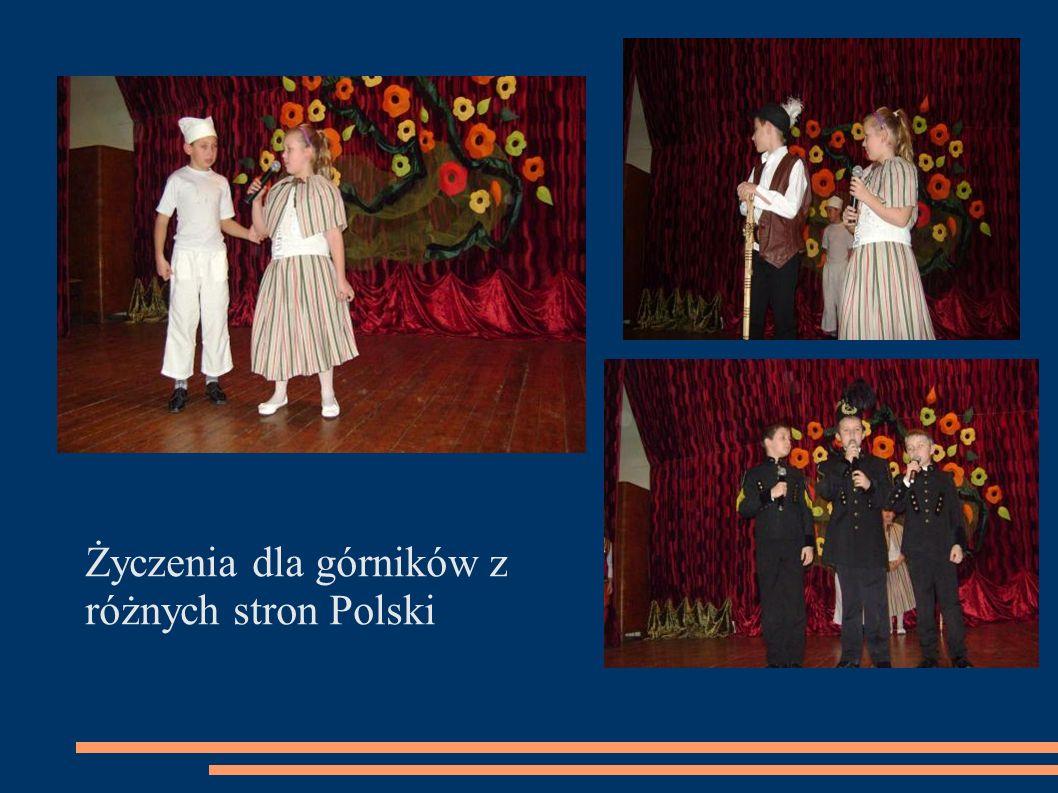 Życzenia dla górników z różnych stron Polski