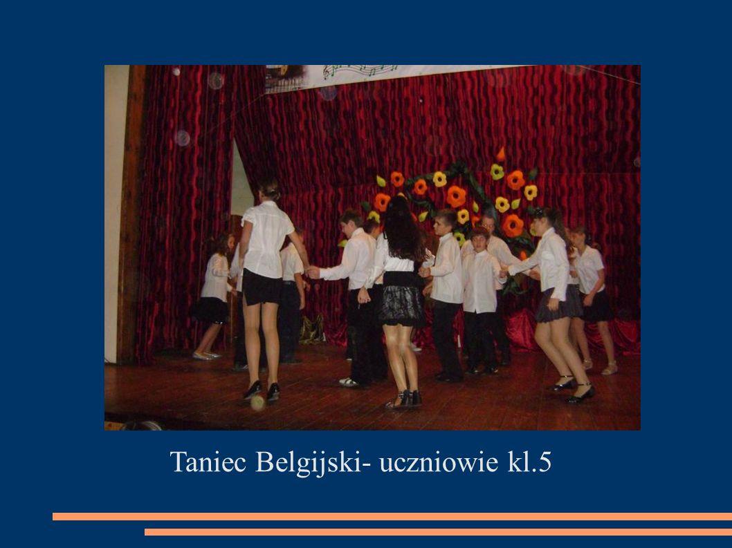 Taniec Belgijski- uczniowie kl.5