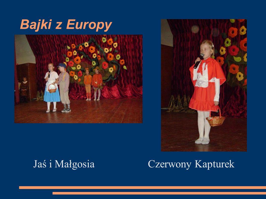 Bajki z Europy Jaś i Małgosia Czerwony Kapturek
