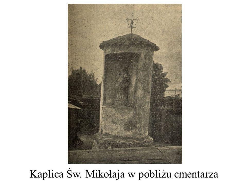 Kaplica Św. Mikołaja w pobliżu cmentarza