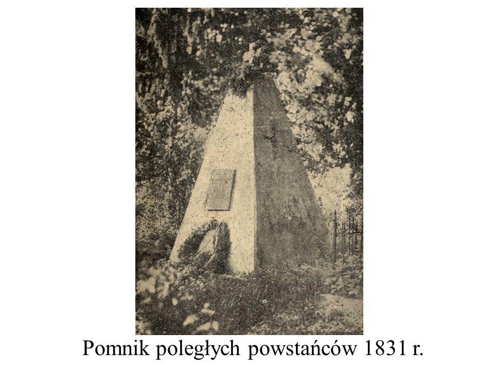 Pomnik poległych powstańców 1831 r.