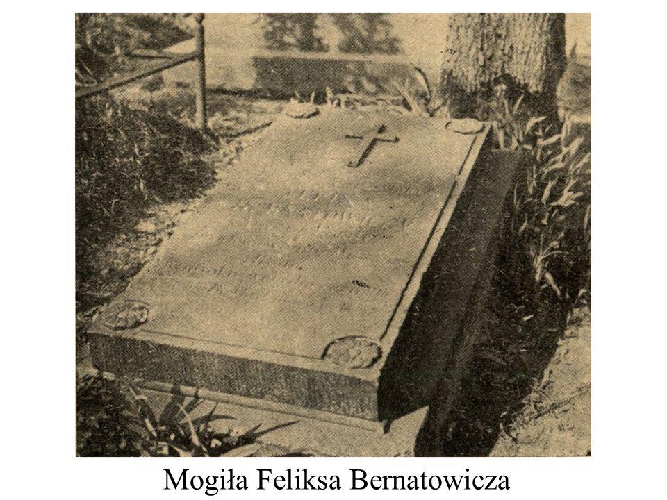 Mogiła Feliksa Bernatowicza
