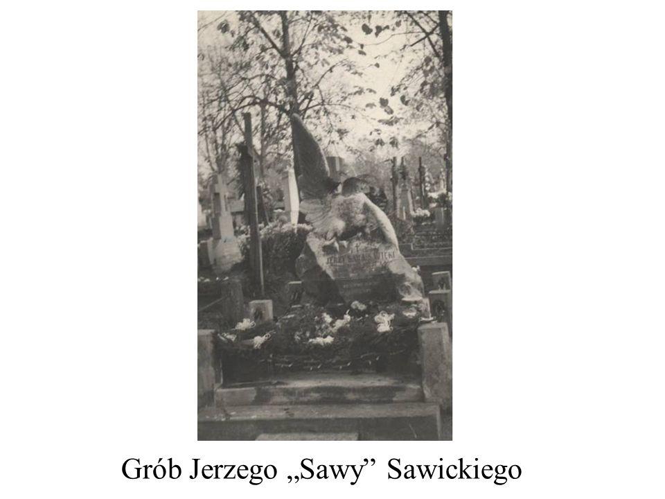 Grób Jerzego Sawy Sawickiego