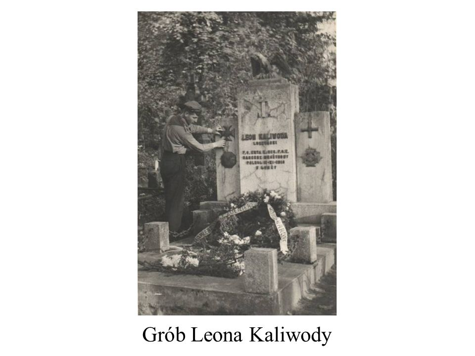Grób Leona Kaliwody