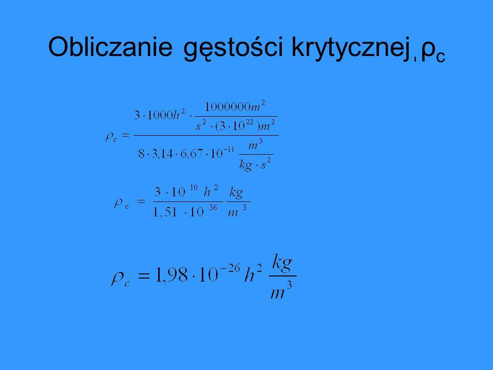 G μν - tensor krzywizny ( opisuje geometrię czasoprzestrzeni) T μν - tensor energii pędu ( opisuje rozkład masy i energii) g μν - tensor metryczny czasoprzestrzeni (określa odległości) ρ vac -gęstość energii próżni