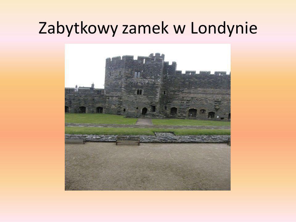 Zabytkowy zamek w Londynie