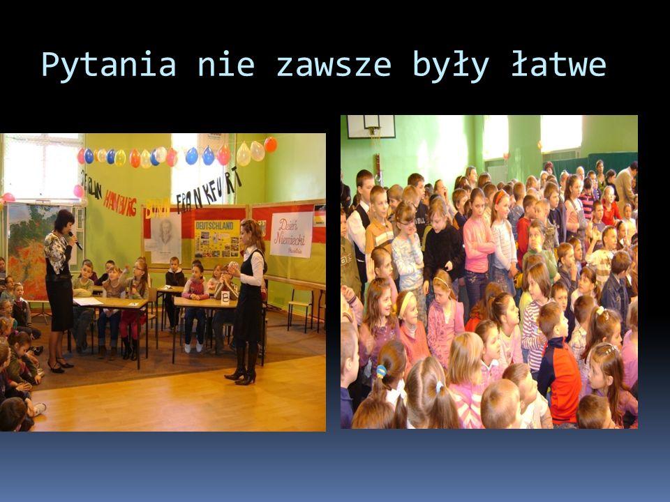 Był też pokaz mody w barwach flagi Niemiec.