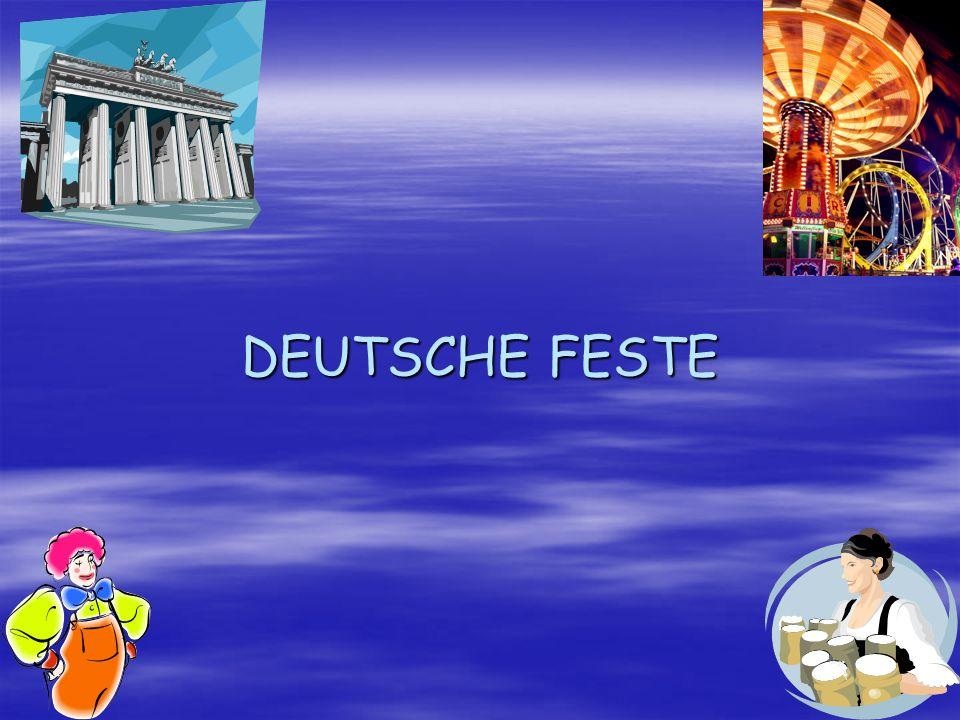 DEUTSCHE FESTE