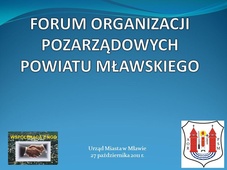 Urząd Miasta w Mławie 27 października 2011 r.