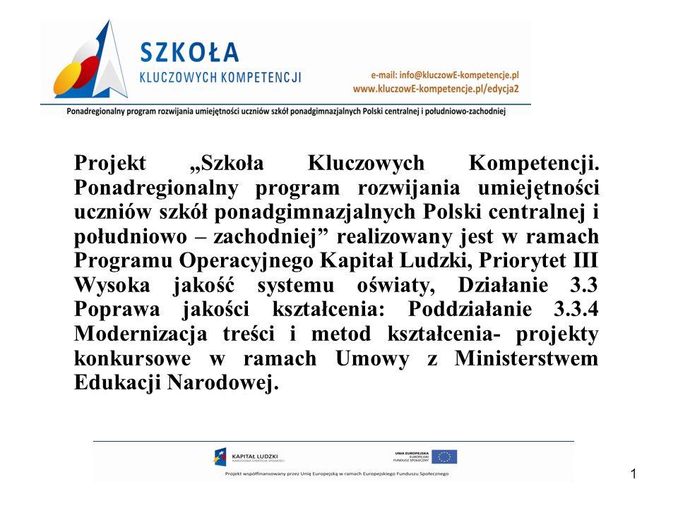 2 Projekt jest realizowany przez: Lidera Wyższą Szkołę Ekonomii i Innowacji w Lublinie Partnera Dolnośląską Szkołę Wyższą we Wrocławiu
