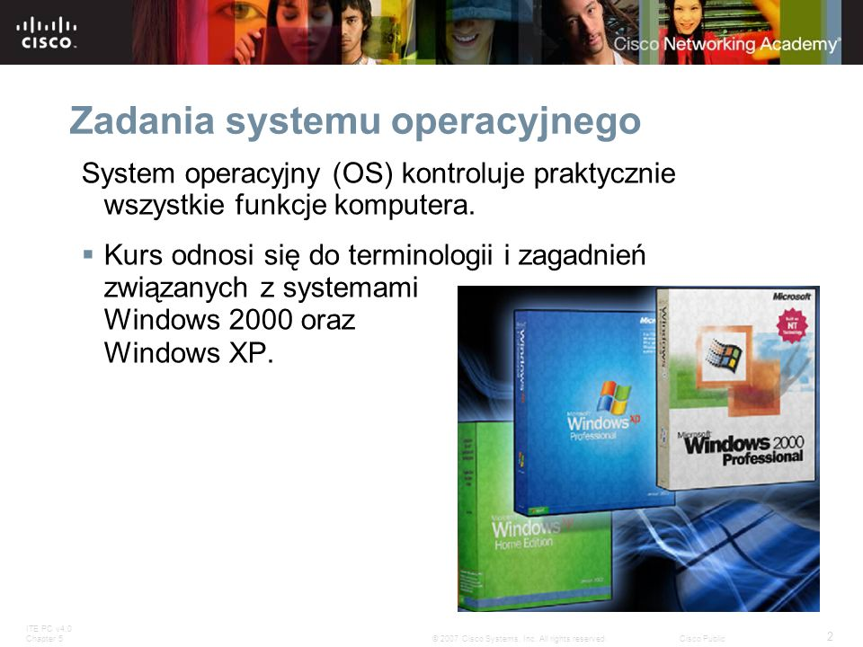 ITE PC v4.0 Chapter 5 2 © 2007 Cisco Systems, Inc.