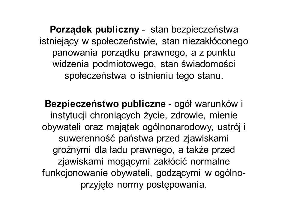 Policja wykonuje swoje zadania w różnych prawnych formach, nie tylko na podstawie ustawy o Policji, ale także dziesiątków innych aktów normatywnych.