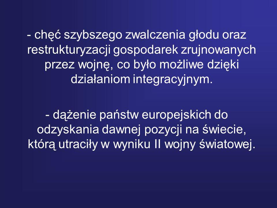 Ojcowie zjednoczonej Europy Wśród wielu polityków bardzo zasłużonych dla zjednoczenia Europu kilku odegrało rolę szczególną.