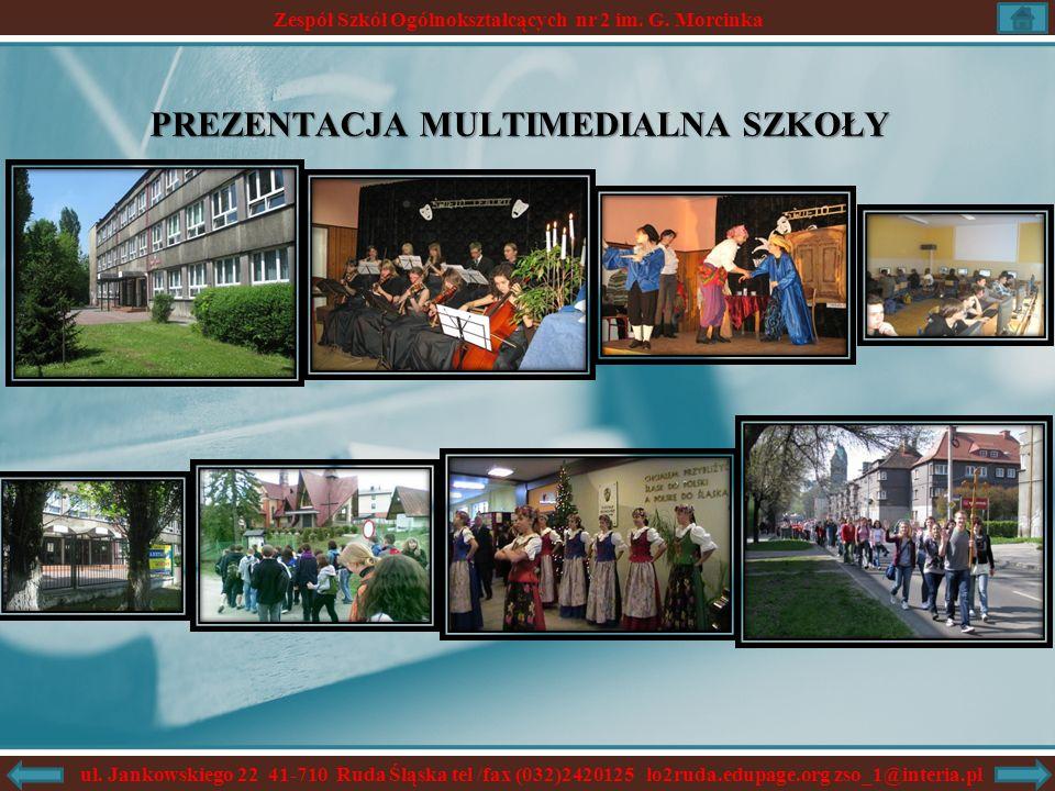 Zespół Szkół Ogólnokształcących nr 2 im.G. Morcinka ul.