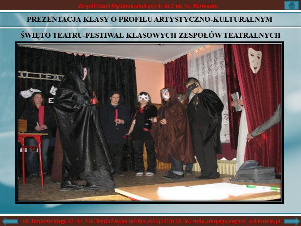 Zespół Szkół Ogólnokształcących nr 2 im. G. Morcinka ul.