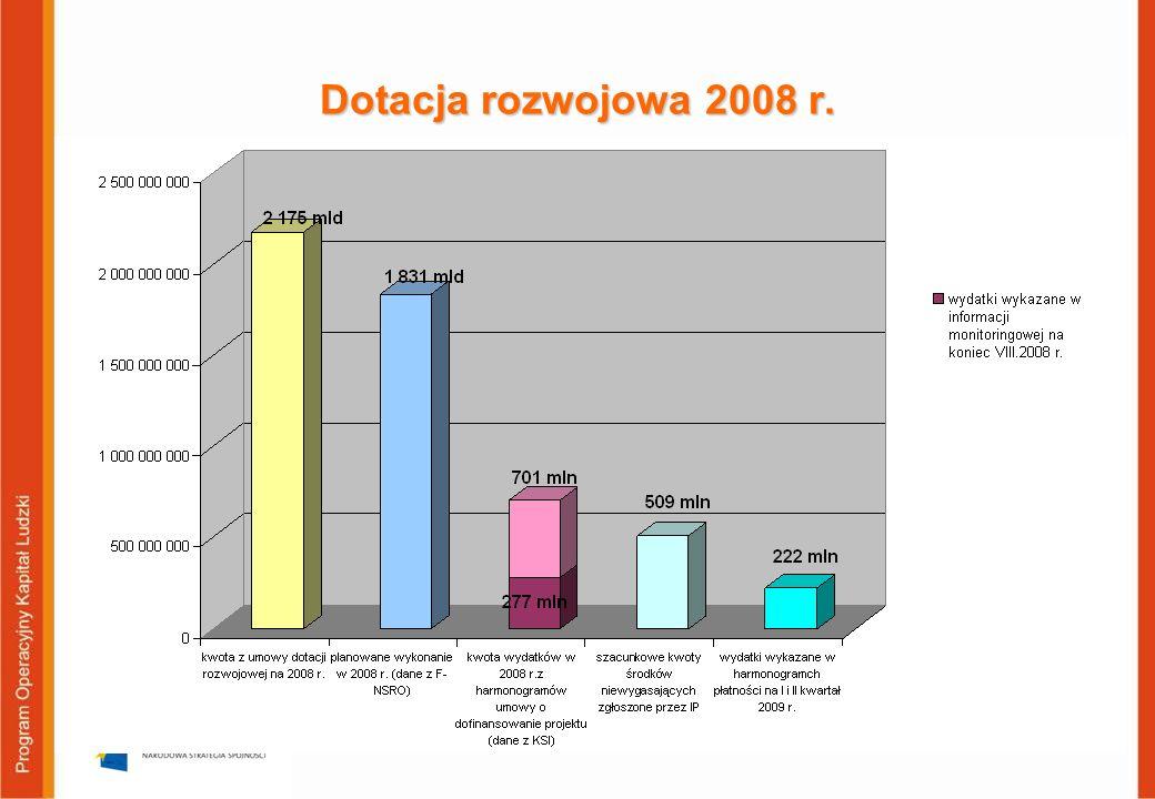6 Środki niewygasające w 2008 r.