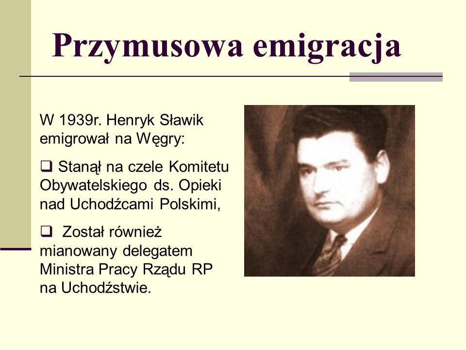 Przymusowa emigracja W 1939r.
