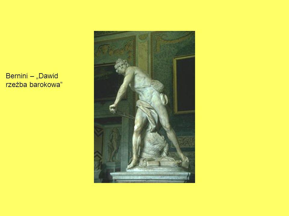 Bernini – Dawid rzeźba barokowa