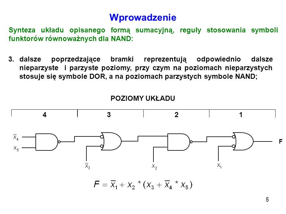 66 Multiplekser scalony 74151 WejściaWyjścia AdresoweStrobujące Y W C B AS X X X 0 0 0 0 0 1 0 1 0 0 1 1 1 0 0 1 0 1 1 1 0 1 1 1 100000000100000000 0 1 D 0 D 0 D 1 D 1 D 2 D 2 D 3 D 3 D 4 D 4 D 5 D 5 D 6 D 6 D 7 D 7 Tabela stanów Symbol Funkcja realizowana przez układ: