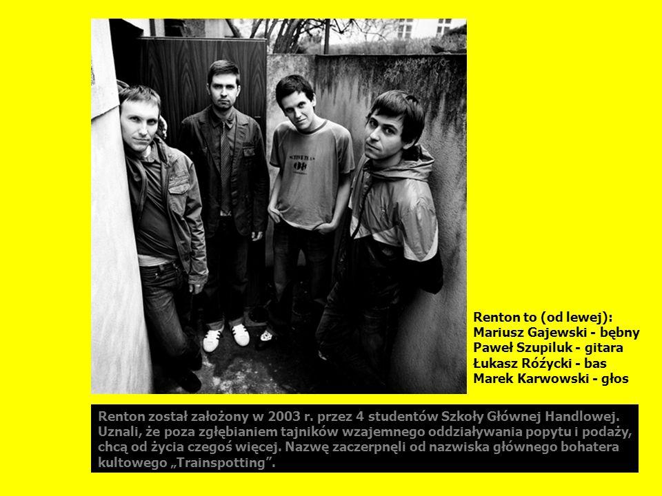 Przed pełnometrażowym debiutem, piosenki Rentona można było usłyszeć na kilku kompilacjach prezentujących młode rockowe zespoły.