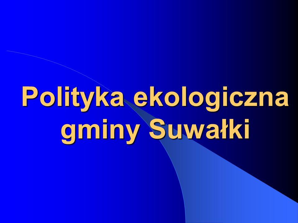 Polityka ekologiczna gminy Suwałki