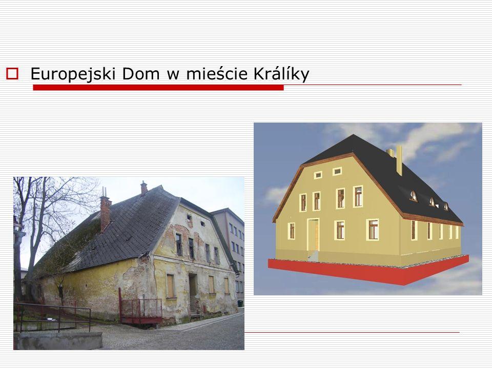 Europejski Dom w mieście Králíky