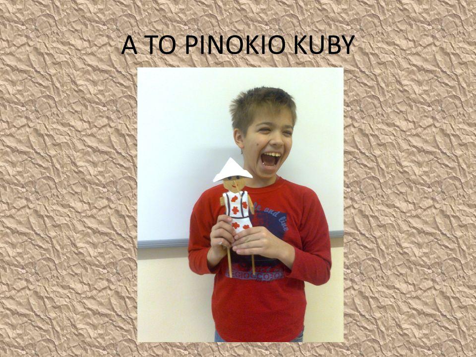 A TO PINOKIO KUBY