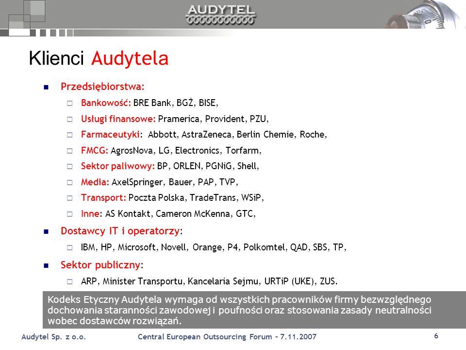 6 Audytel Sp.z o.o.