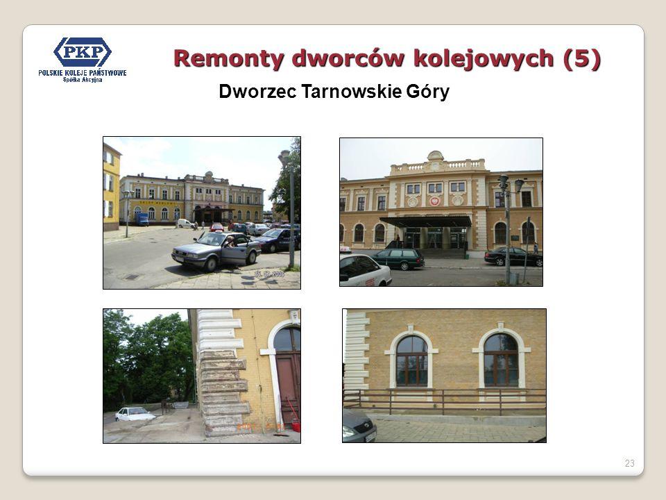 23 Dworzec Tarnowskie Góry Remonty dworców kolejowych (5)