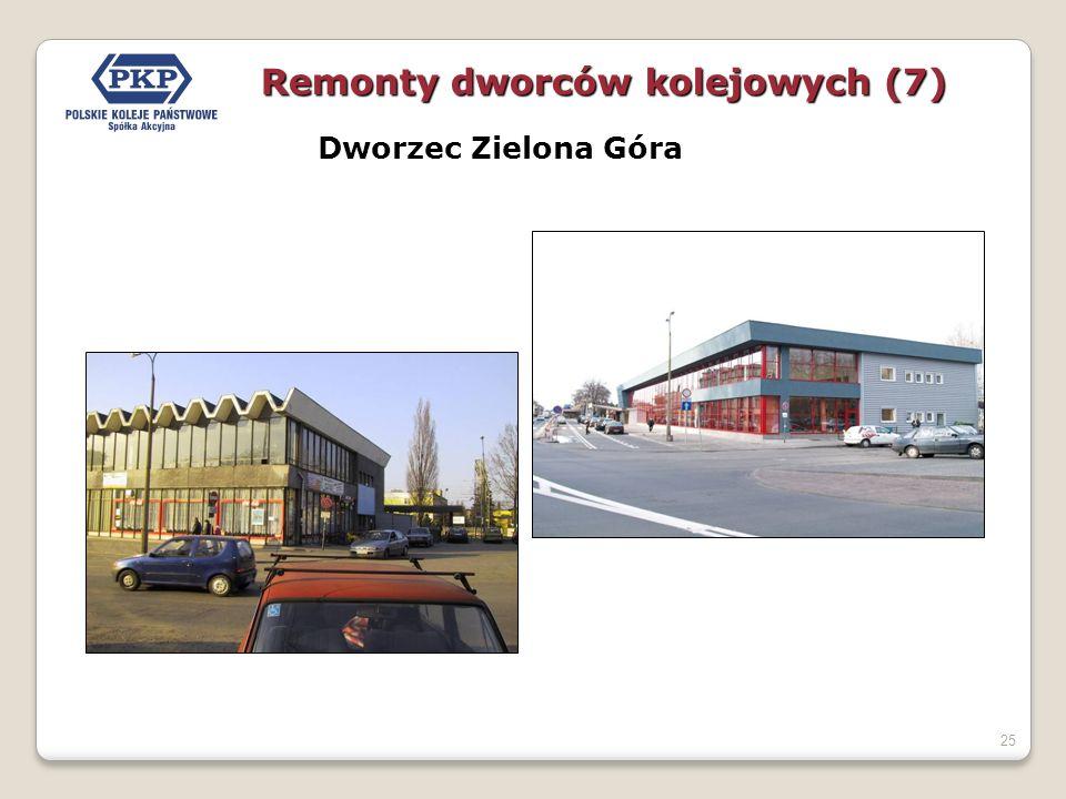 25 Dworzec Zielona Góra Remonty dworców kolejowych (7)