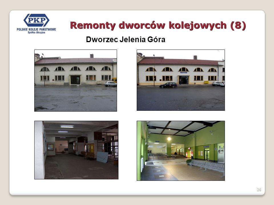 26 Dworzec Jelenia Góra Remonty dworców kolejowych (8)