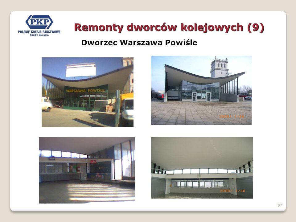 27 Dworzec Warszawa Powiśle Remonty dworców kolejowych (9)