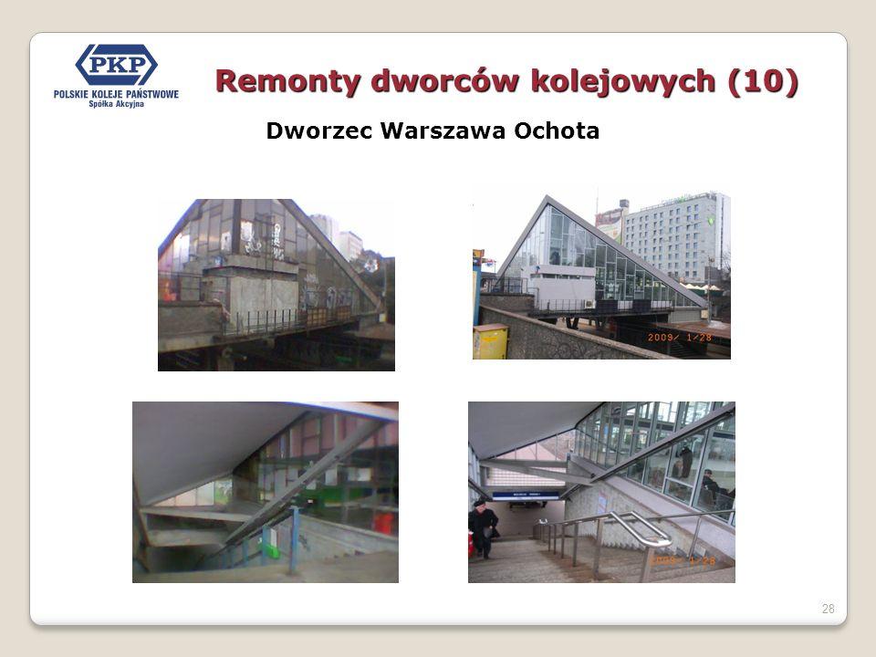 28 Dworzec Warszawa Ochota Remonty dworców kolejowych (10)