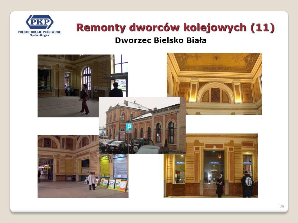 29 Dworzec Bielsko Biała Remonty dworców kolejowych (11)