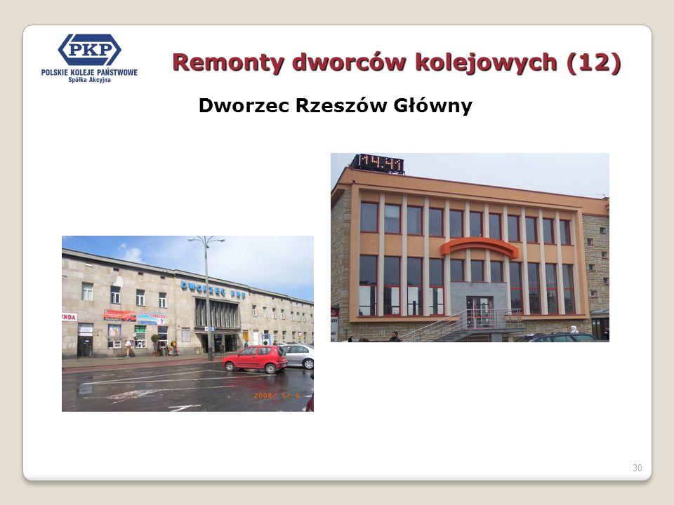 30 Dworzec Rzeszów Główny Remonty dworców kolejowych (12)