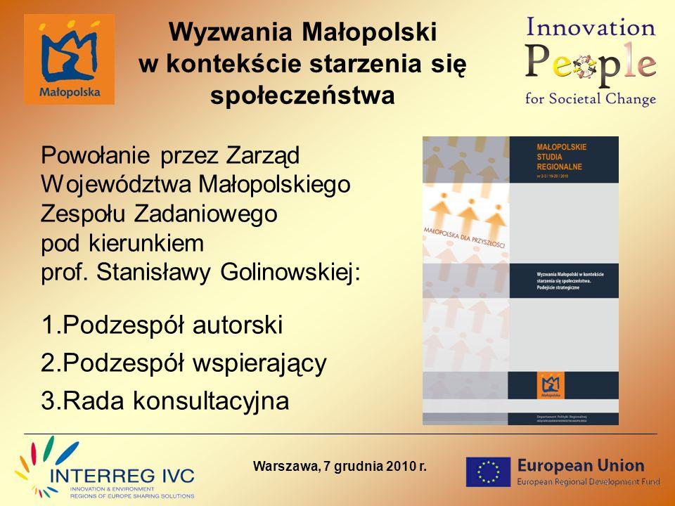 Dziękuję za uwagę Urząd Marszałkowski Województwa Małopolskiego Departament Polityki Regionalnej Kraków, ul.