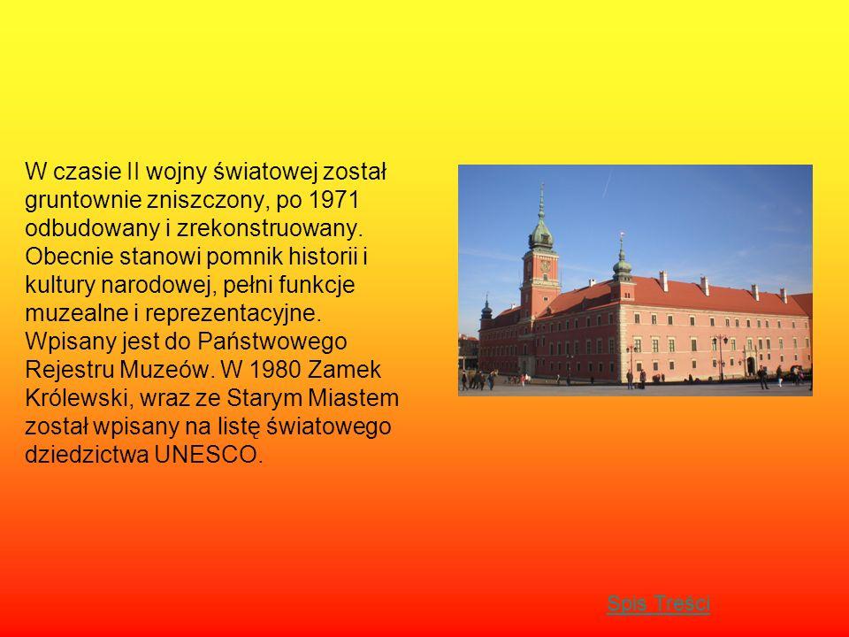 W czasie II wojny światowej został gruntownie zniszczony, po 1971 odbudowany i zrekonstruowany. Obecnie stanowi pomnik historii i kultury narodowej, p
