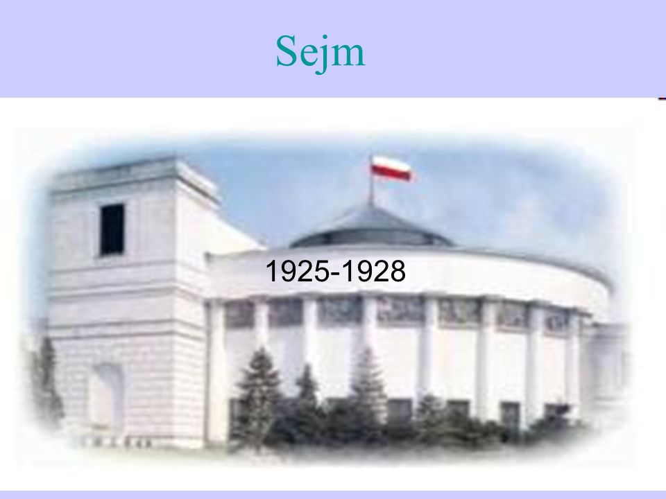 1925-1928 Sejm