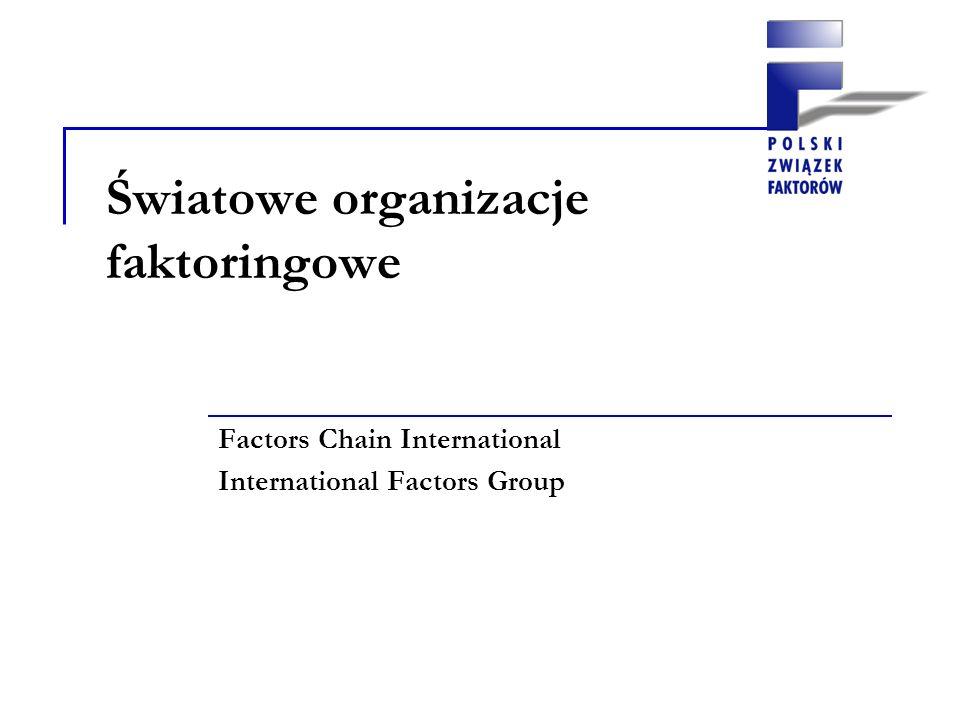 Factors Chain International (w skrócie FCI), sieć skupiająca wiodące firmy faktoringowe na świecie, FCI założone zostało w 1968 roku Obecnie FCI skupia 225 faktorów z 63 krajów Światowe organizacje zrzeszające firmy faktoringowe