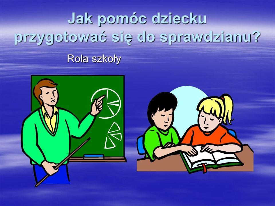 Rola szkoły
