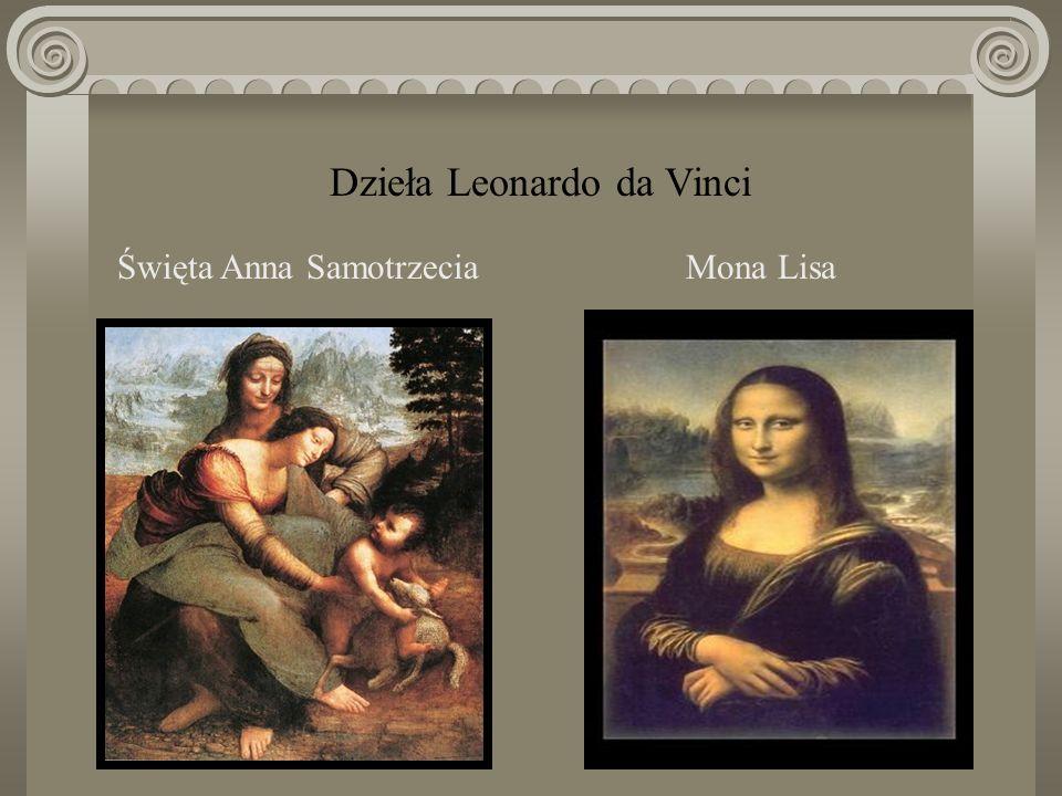 genialny malarz włoski, inżynier, uczony, jeden z wielkich przedstawicieli nauki i sztuki okresu odrodzenia. Leonardo da Vinci (1452–1519)