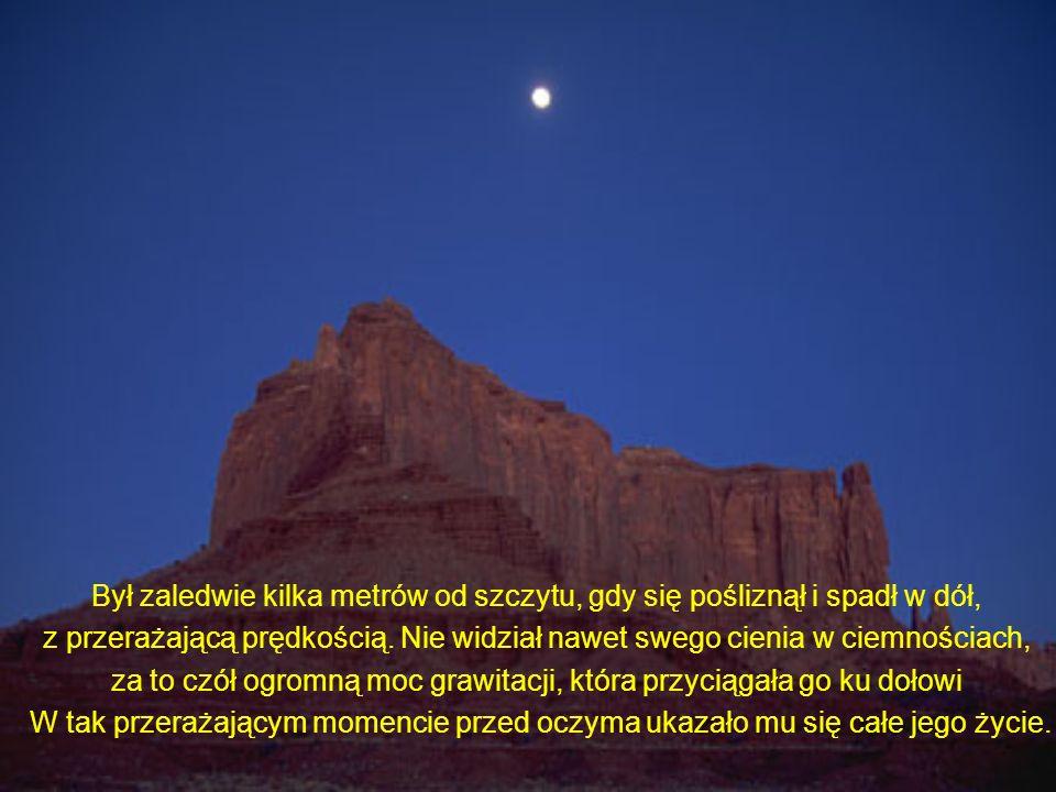 Zapadła noc, by przykryć wszystko mrokiem. Księżyc i gwiazdy były zasłonięte przez chmury. Była zerowa widoczność.