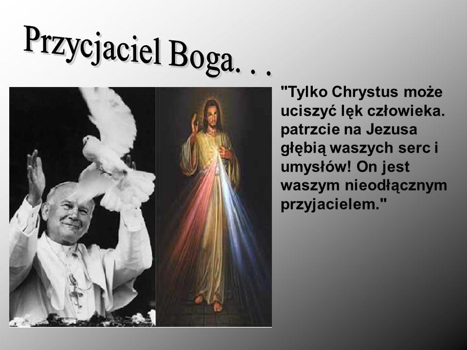 Papież w poruszający sposób pisał o pragnieniu Boga wpisanym w serce człowieka.